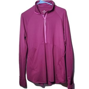 Athleta | Malibu Running Jacket Cranberry